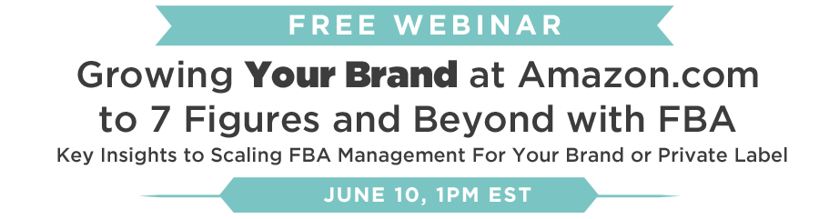 Growing your brand at amazon.com to 7 figures and beyond with FBA private label Teikametrics software webinar resellers